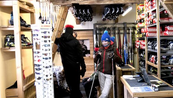Skiworld Langlaufshop & Testzentrum Gnadenalm, Obertauern