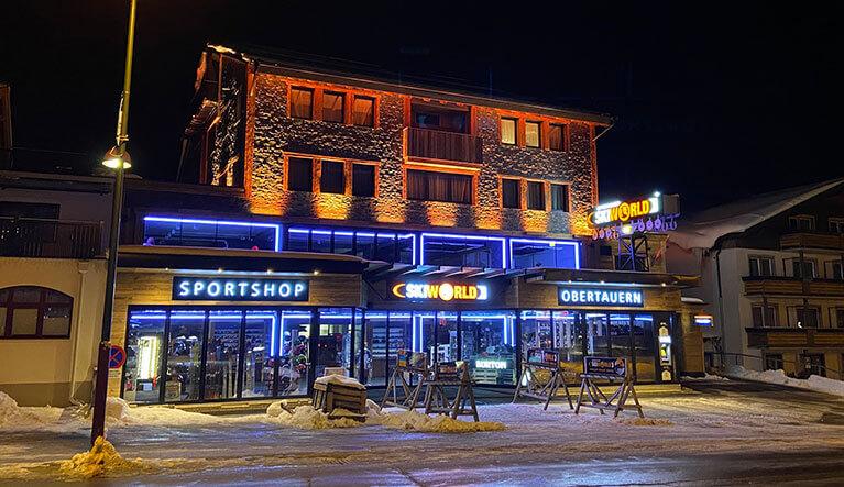 Skiverleih & Sportshop in Obertauern