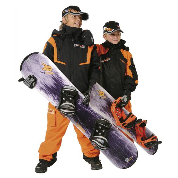 Board- & Schutzbekleidung im Skiworld-Design - Obertauern & Turracher Höhe