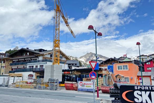 Umbau - Skiworld, Skiverleih in Obertauern